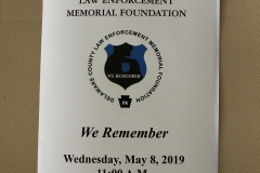 2019 Day of Remembrance